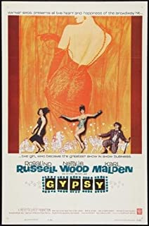 Gypsy Movie Poster #01 24x36in
