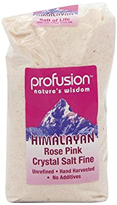 Profusion Himalayan Rose Pink Salt Fine (500g) by Groceries
