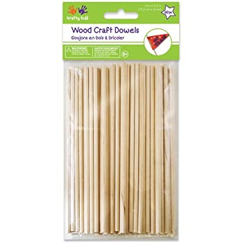 Wood Craft Dowels 6""
