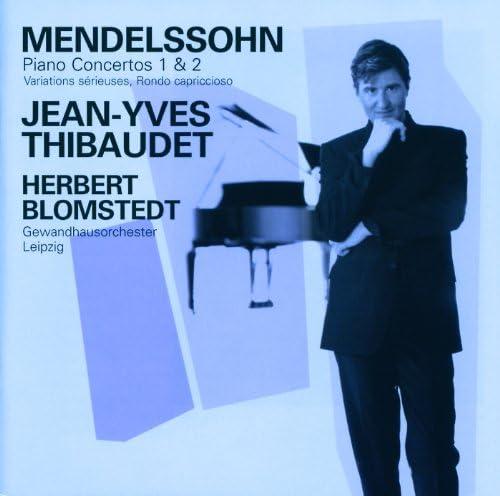 ジャン=イヴ・ティボーデ, ライプツィヒ・ゲヴァントハウス管弦楽団 & ヘルベルト・ブロムシュテット