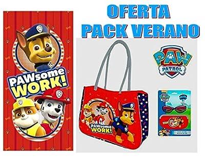 PAW PATROL Oferta Pack Verano de PATRULLA CANINA