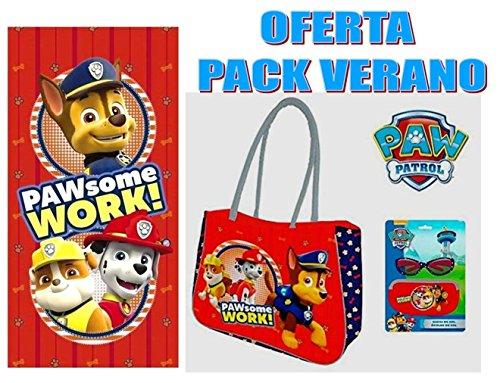 PAW PATROL Oferta Pack Verano
