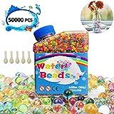 NOCHME Bolas De Gel De Agua Colores, 50000 Pcs Perlas...