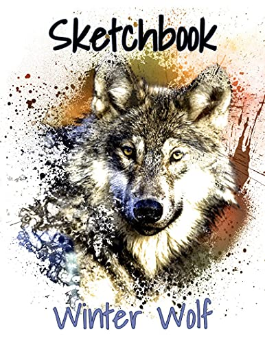 Winter Wolf: Sketchbook (JDL Sketchbook Collection) (English Edition)