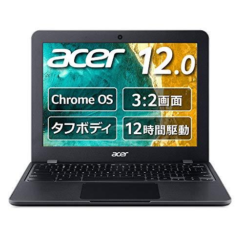Chromebook クロームブック Acer ノートパソコン 12.0型 C851-A14N グーグル Google 米軍用規格(MIL-STD 81...