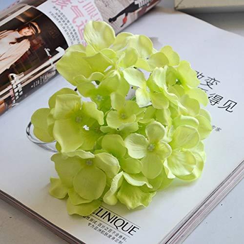 MEITAO Kunstbloemen, kunstbloemen van zijde, hortensia voor bruiloft, op boogslinger, bruiloftsbloemen H