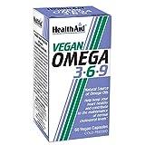 HealthAid Vegan Omega 3-6-9 Capsules - (Pack of 60 Capsules)
