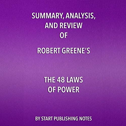 Summary, Analysis, and Review of Robert Greene's 'The 48 Laws of Power' audiobook cover art
