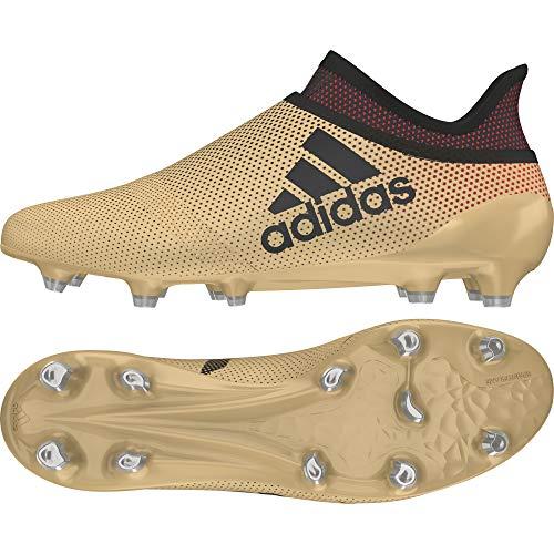 adidas Performance X 17+ Fg, Scarpe da Calcio Uomo, Oro (Tagome/Cblack/Solred), 40 2/3 EU