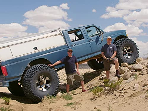 Ford F354 Monster Truck vs. Johnson Valley rocks