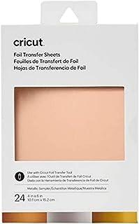 Cricut Collection de feuilles de transfert de Foil, Métallique (24ct)