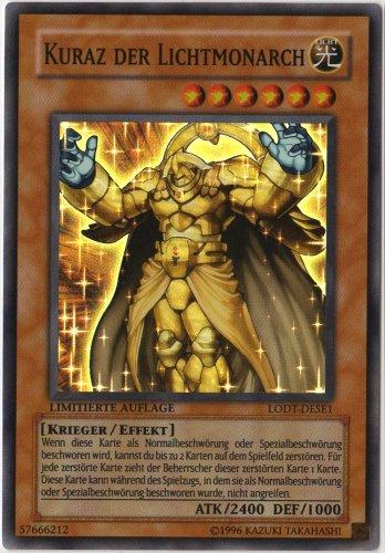 Yu-gi-Oh! Kuraz der Lichtmonarch Einzelkarte LODT-DESE1 Super Rare (deutsch)
