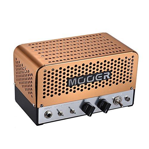 Muslady MOOER versterker kop mini 5W all-buis LITTLE MONSTER BM ECC83 (12AX7) ECC81 (12AT7) 6V6GT voor 8Ω/16Ω spreker met draagtas