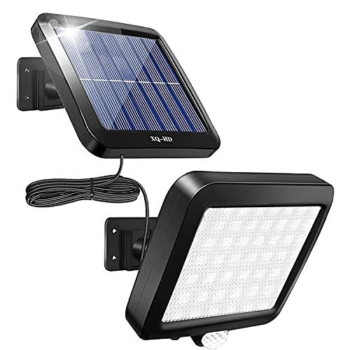 Solar Lights Outdoor, 56 LED Solar Security Lights...
