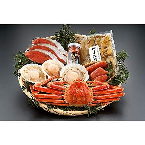 ( 産地直送 お取り寄せグルメ ) 北の海鮮宝箱W100(ず500g、紅鮭3切、いくら70g、数の子松前250g ・・・・・)