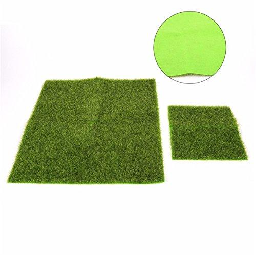 Herbe en Plastique Artificielle Intérieure et Extérieure Sports Flooring Garden Landscape Home Decoration,12in*12in