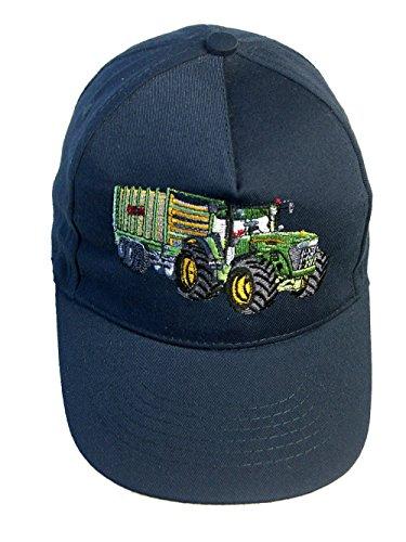 Zintgraf Jungen Baseball Kappe Traktor Ladewagen Stickerei (dunkelblau)