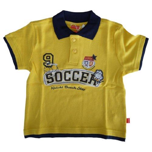 Kidoki Jungen - Poloshirt Gelb mit Motiv