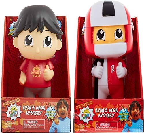 Ryans World Toys Bundle ! containing Both Ryan and Ryan in helmet Money Boxes