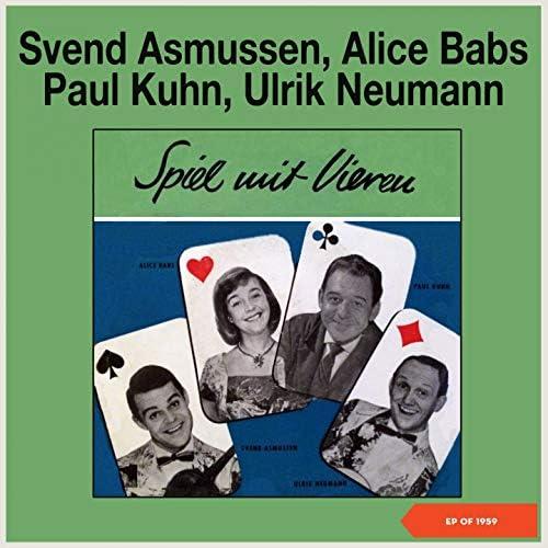 Alice Babs, Paul Kuhn, Svend Asmussen, Ulrik Neumann