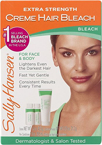 Sally Hansen Extra Strength Creme Hair Bleach, 1 kit by Sally Hansen