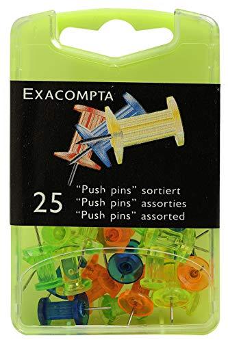 Exacompta 14745E Spilli, 9 x 5.70 x 2.20 cm, Multicolore Traslucidi