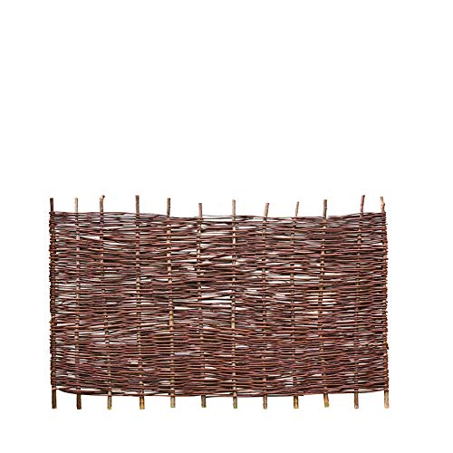 Weidenprofi Sichtschutz, Weidenzaun Modell Natur, Flechtzaun aus Weide, Größe (BxH): 180 x 90 cm