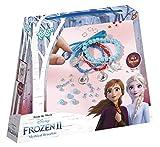 Frozen II- Eiskristallarmbänder Juego místicas Disney CREA Tus propias Pulseras Diferentes Colgantes, Cintas de satén y Hermosas Perlas, Regalo para niñas, Multicolor (TM Essentials 680746)