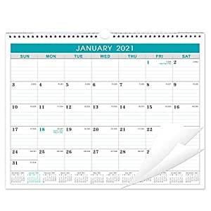 A PROVEN APPROACH TO PRODUCTIVITY AND HAPPINESS - Monthly calendar featuring monthly view pages, tracking your daily tasks and long-term goals so you can get more done in less time. MONTHLY OVERVIEW - Lined pages with plenty of writing space for sche...