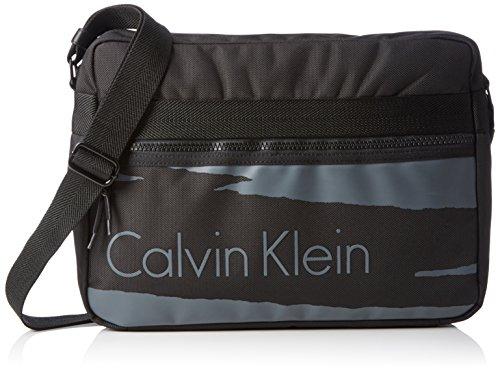 Calvin Klein Jeans COOPER MESSENGER, Borsa a tracolla Uomo, Nero (Black 001), 30x14x13 cm (B x H x T)