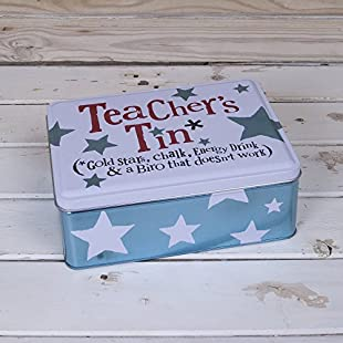 The Bright Side Storage Tin - Teachers Tin* (*Gold Stars, Chalk, Energy Drink & Biro that doesn't work)... by Bright Side:Kumagai-yutaka