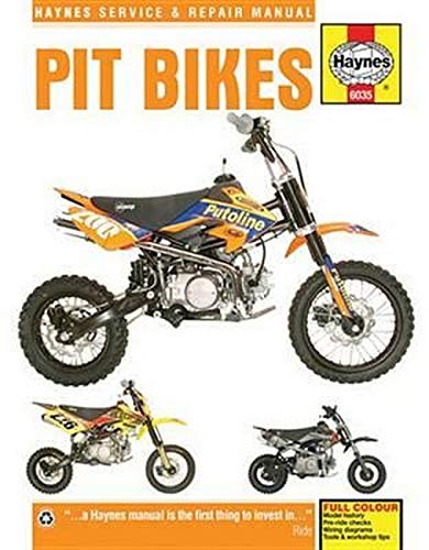 Pit Bikes (90 -16) (Haynes Service and Repair Manual)