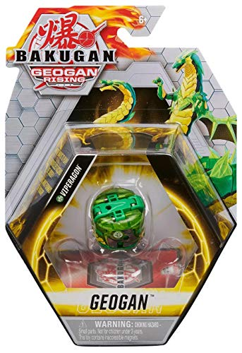 Bakugan Geogan, Viperagon, Geogan Rising Collectible Action Figure and Trading Cards