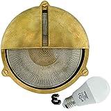 Orbis - paratia lámpara de pared al interior o exterior de luz impermeable Marino Nautical lámpara industrial - LED