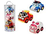 Rocco Giocetti - 83197 - Figurine - Robocar Poli Pack 3 Figurines à Friction