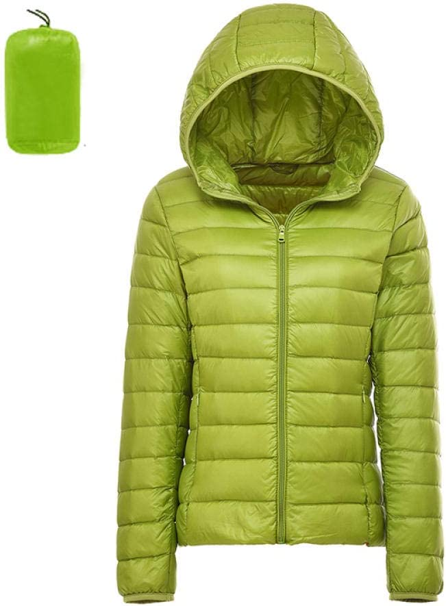 Happy-W Women's Free shipping Down Jacket Ultra Thin Hooded Packable Warm Discount is also underway
