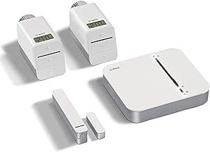 Bosch Smart Home - Equipo básico climatización, Set de 4 piezas, 230 V, Versión para Austria y Francia