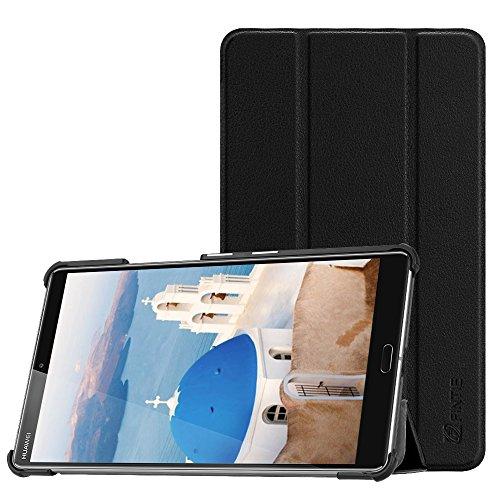 Fintie Hülle Hülle für Huawei Mediapad M5 8 Tablet - Ultra Dünn Superleicht SlimShell Ständer Hülle Cover Schutzhülle Auto Sleep/Wake Funktion für Huawei MediaPad M5 21,34 cm (8,4 Zoll),Schwarz