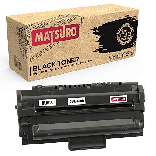 Matsuro Originale | Compatibili Cartuccia Del Toner Sostituire Per SAMSUNG SCX-4200 (1 NERO)