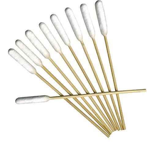 PROREZULT Ohrenreinigungs-Tupfer, Bambusstäbchen, Ohrenreinigung, Geruchsentferner und Juckreiz für Ohren, 100 Stück