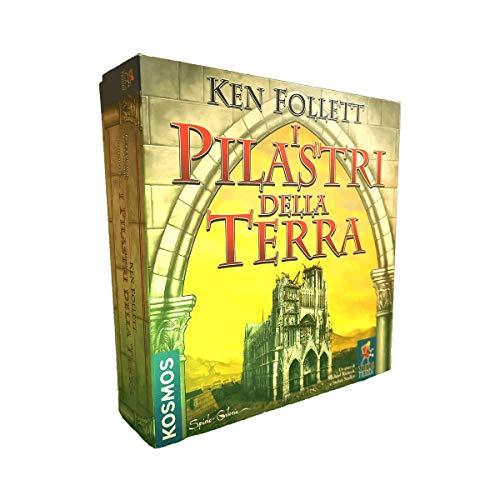 Giochi Uniti-I Pilastri delle Terra Gioco da Tavolo, Multicolore, MFG4119