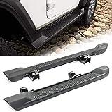 Side Step Running Boards Nerf Bar Compatible With 2018-2020 J-eep Wrangler JL 2 Door Black Pedale Off-Road Side Steps Rails Nerf Bars