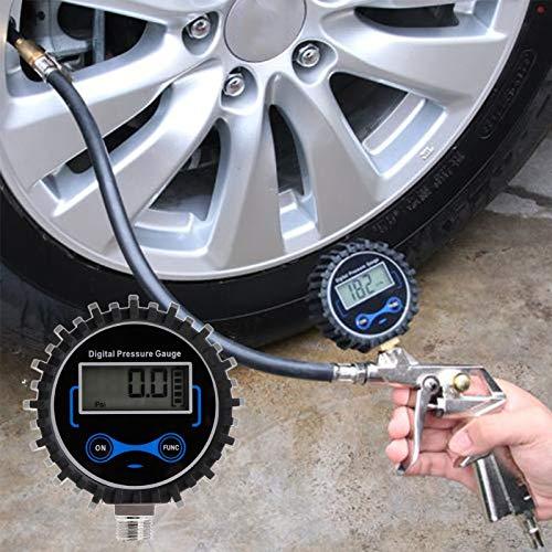 WHEEJE Medidor de presión digital Air PSI Meter Motor Motorcycle Presión Monitor de presión