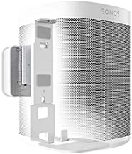 Vogel's Sound 4201 Speaker Wall Mount for Sonos One and One SL   Max. 11 lbs (5 kg)   Tiltable -30º/+30º   Swivels up to 70º (Left/Right)   Also fits Sonos Play:1   White   1 Mount