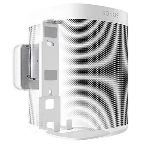 Vogel's SOUND 4201 Soporte de pared para Sonos One (SL) y Play:1, Máx. 5 kg, Inclinable -30º/+30º, Girar hasta 70º, Blanco