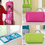 HB MALL INDIA Multifunctional Travel Makeup Cosmetic Case Organizer Bag, Hanging Toiletry Bag