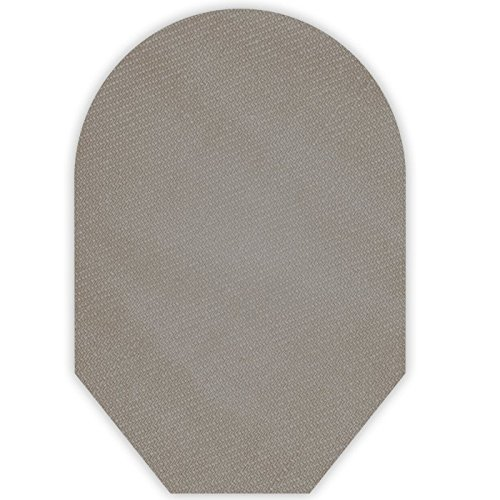Solid Color Ostomy Pouch Cover Closed End (Grey)
