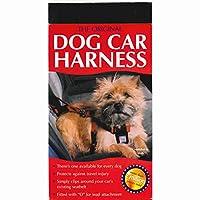 犬 シートベルト ドッグ カーハーネス Mサイズ (ドライブ 安全) HI-CRAFT社製 在庫,Mサイズ