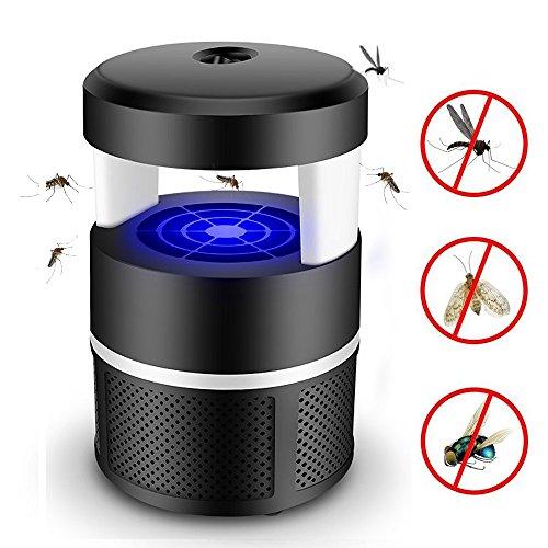 Anti-Moskito Maschine Moskito Mörder, Elektrischer Mückenvernichter Lampe Haushalt Insektenvernichter Mückenfalle, Ruhig LED Fliegenfalle Mosquito Killer Lamp für Küchen und Schlafzimmer