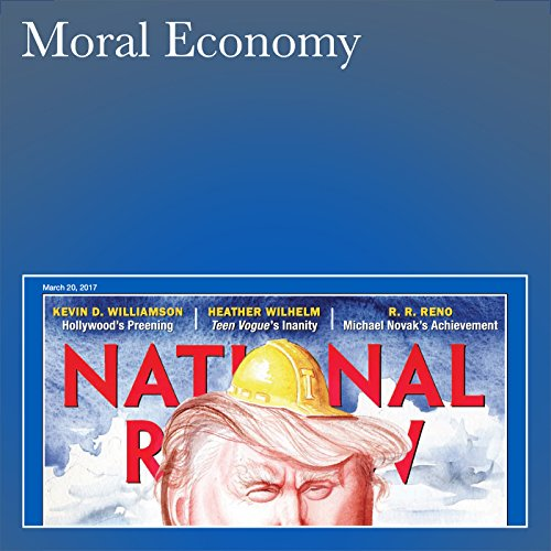Moral Economy audiobook cover art